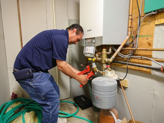 Phil's Propane heating maintenance and repairs technician