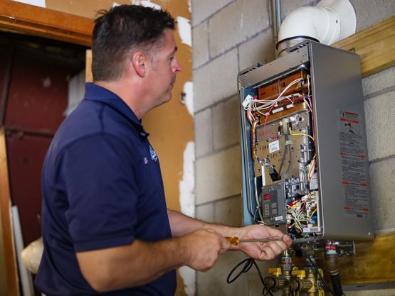 Phil's Propane heating expert technician